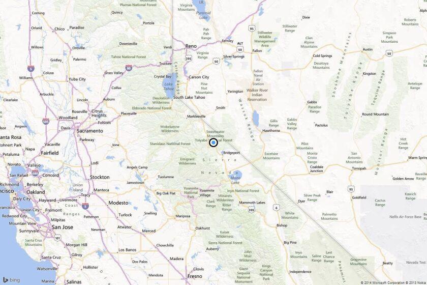 Earthquake: 4.3 quake strikes near Bridgeport