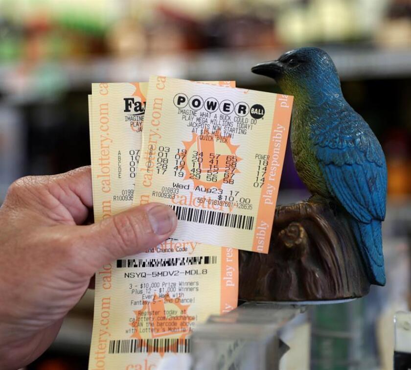 Un joven de 20 años reclamó hoy el premio gordo de la lotería de 451 millones de dólares jugado el pasado 5 de enero, informó hoy en una nota la Lotería de Florida. EFE/Archivo