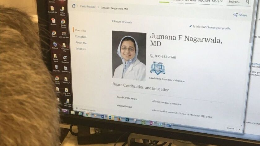 Detroit area physician Jumana Nagarwala has been charged with performing genital mutilation on multiple girls. Her bio is seen above on the Henry Ford Health System website.