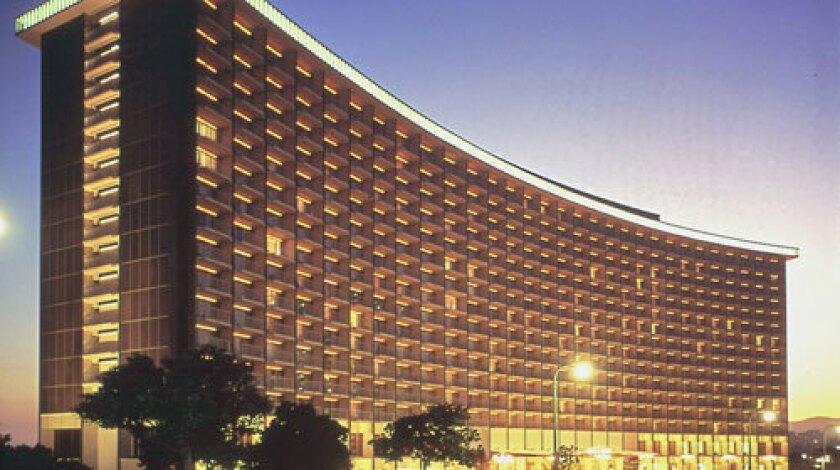 The Century Plaza Hotel, 1966.