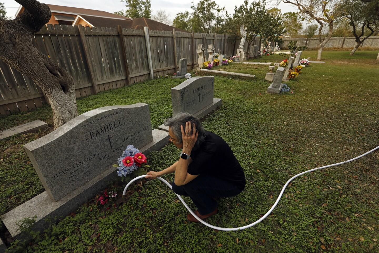 Texas border cemeteries
