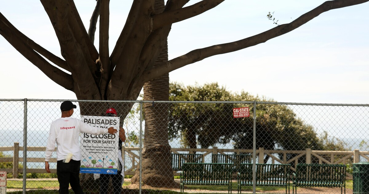 L. A. County κλείνει όλα τα πάρκα την κυριακή του Πάσχα για να επιβραδύνει coronavirus