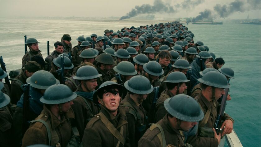 "A scene from Christopher Nolan's ""Dunkirk,"" which dominated China's box office last week."