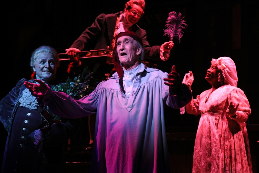 "South Coast Repertory's 2018 production of ""A Christmas Carol"""