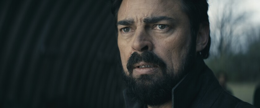 """I love you, goodbye: Billy Butcher (Karl Urban) makes the hardest choice of his life in the Season 2 finale of """"The Boys."""""""