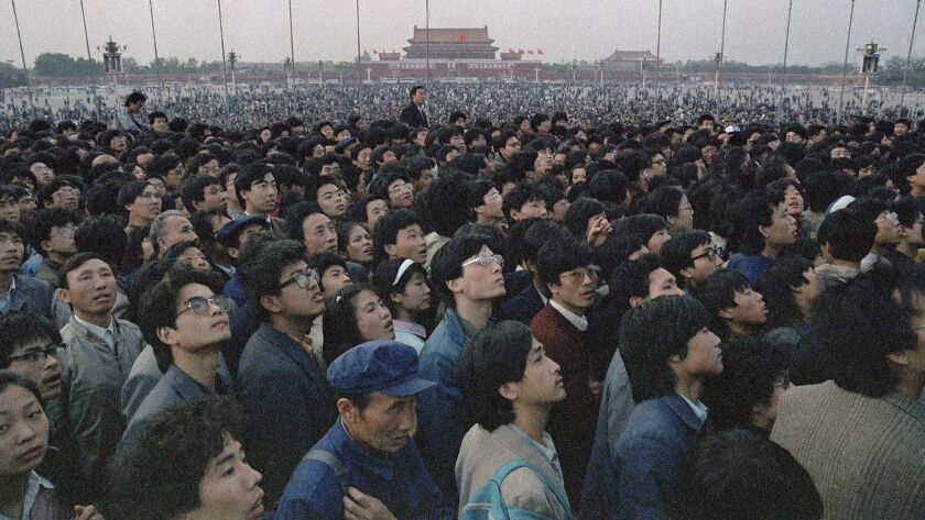 On April 21, 1989, tens of thousands of students and citizens marched to Tiananmen Square. The student-led pro-democracy protests defied Chinese authorities for seven weeks before a bloody crackdown.