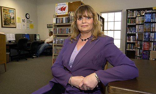 Brenda Biesterfeld at library