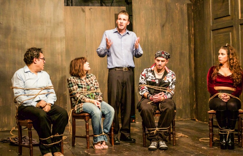 Stephen Adly Guirgis's 'Den of Thieves' at the Hudson Guild Theatre in Hollywood