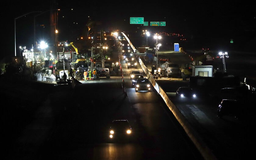 Caltrans is trying a new approach to smoothing out Route 52