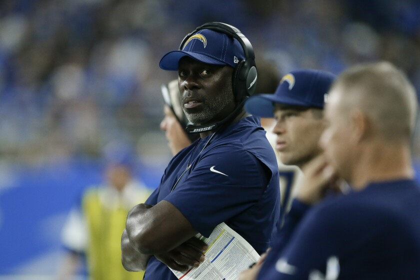 Chargers head coach Anthony Lynn received a contract extension from the team this week.