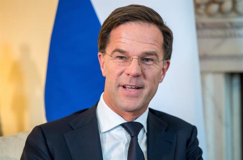 El primer ministro holandés, Mark Rutte. EFE/Archivo