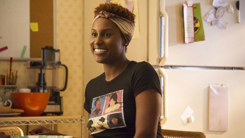 """Issa Rae in a kitchen on """"Insecure"""""""