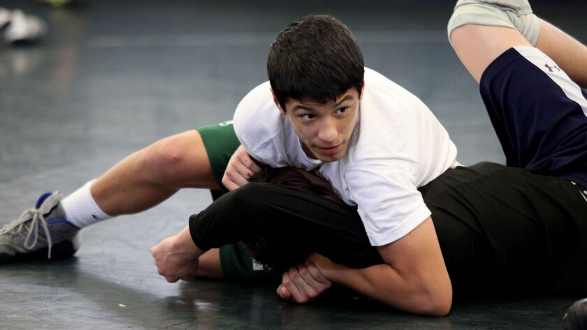 As a freshman, Poway's Victor Lopez was a state runner-up.