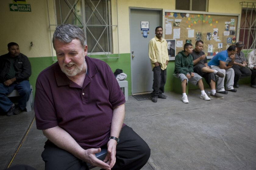 Father Pat Murphy, director of Tijuana's Casa del Migrante.