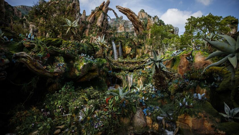 Pandora -- the World of Avatar at Disney's Animal Kingdom in Orlando, Fla., was one of the recipients of a TEA Thea Award.