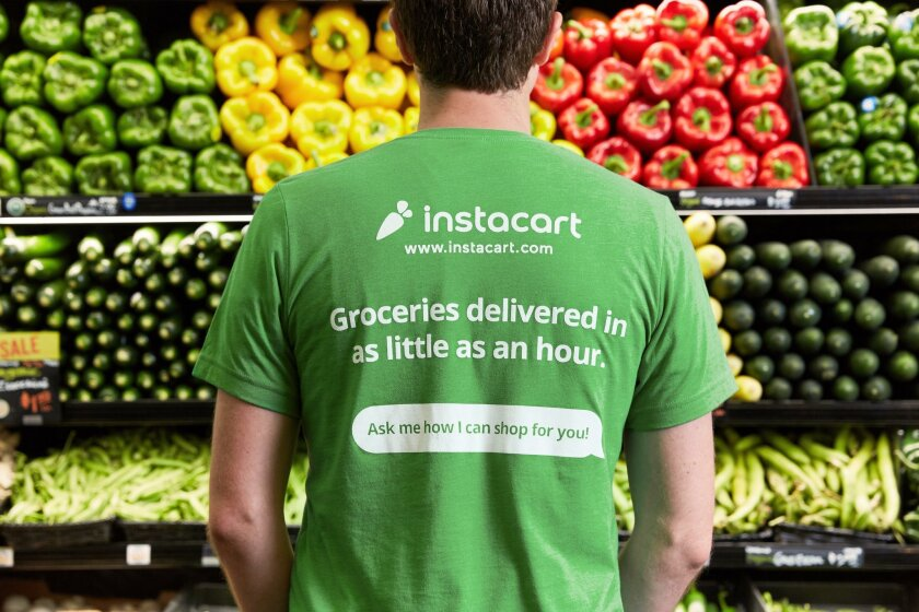 Instacart launches in San Diego, delivers from Jimbo's