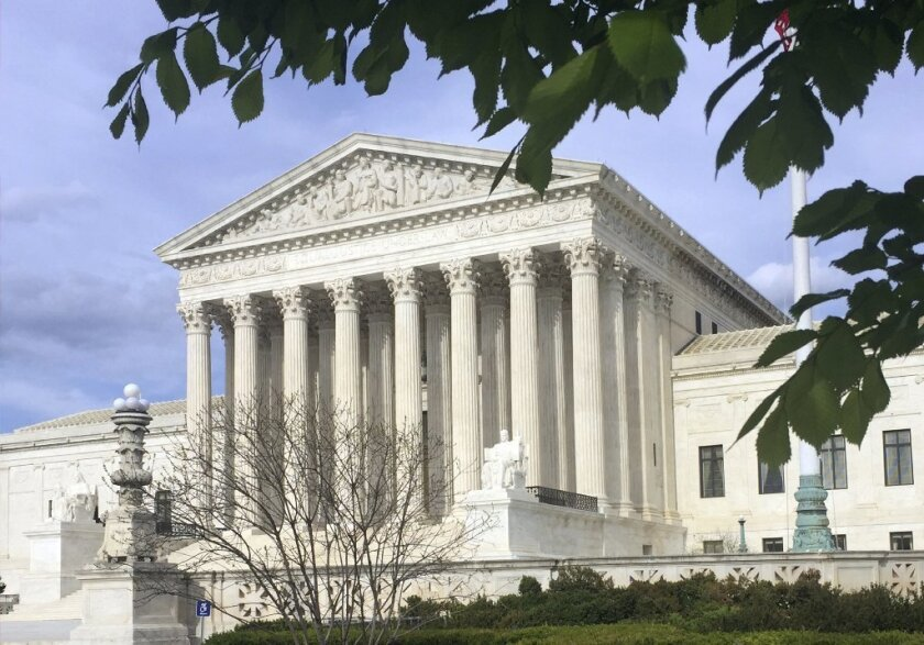 The Supreme Court in Washington, D.C. is the highest court in the country.