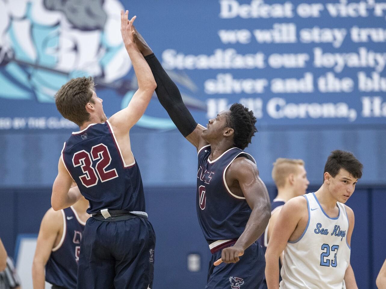 Photo Gallery: Corona del Mar vs. Capistrano Valley Christian in boys' basketball
