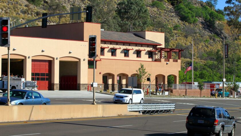 Mission Valley fire station