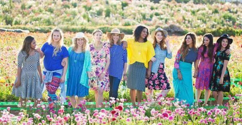 LuLaRoe clothing will be for sale at the benefit for veterans at the RSF Garden Club on Sept. 25.