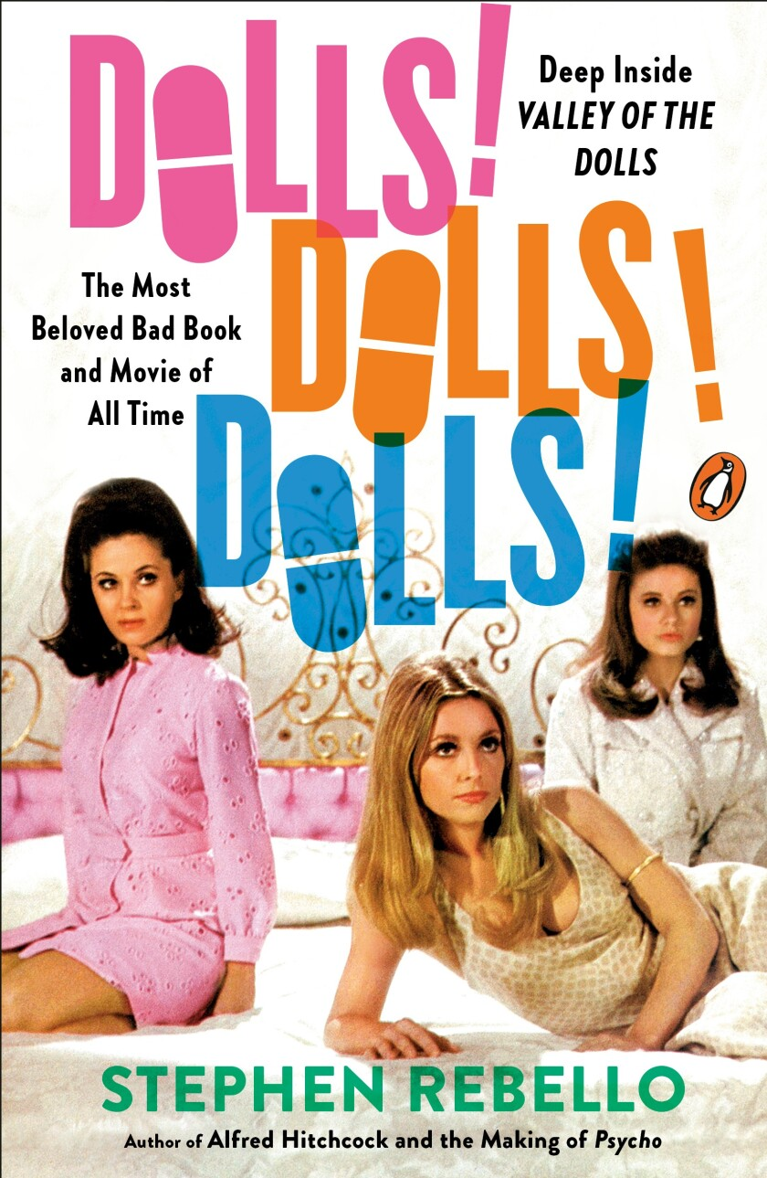 """A book cover for """"Dolls! Dolls! Dolls!,"""" by Stephen Rebello. Credit: Penguin Books"""