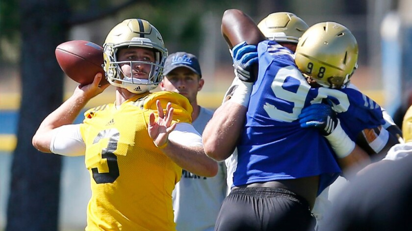 What's on the menu? For UCLA it's offense