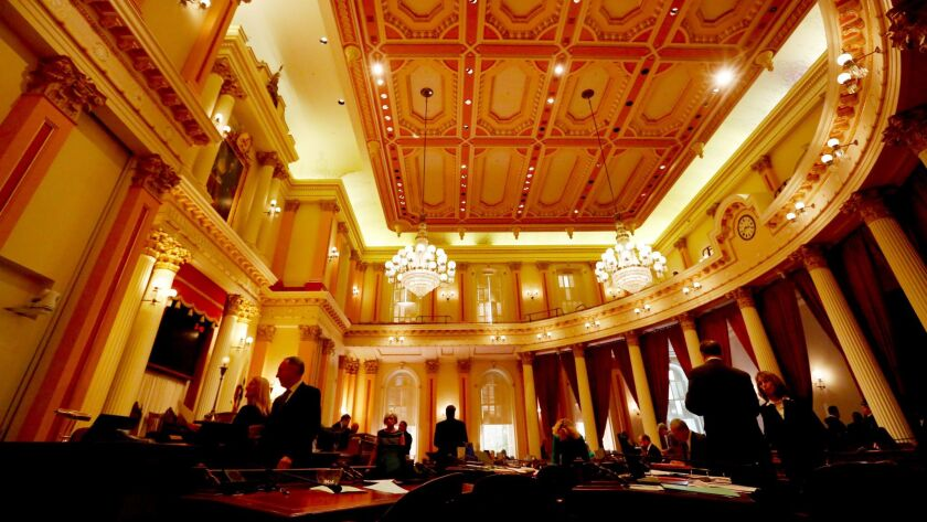 The size of the California Legislature — 40 members in the Senate, 80 in the Assembly — has remained unchanged since 1879.