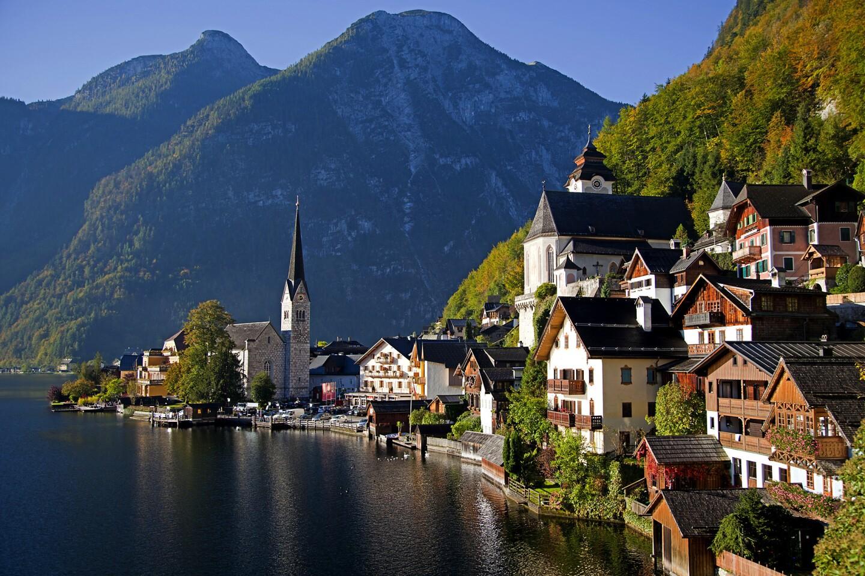 Hallstatt, Austria, a UNESCO World Heritage site.