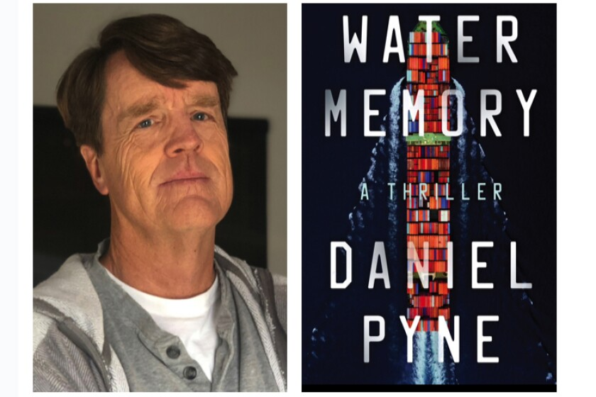 "Daniel Pyne is the author of ""Water Memory."""