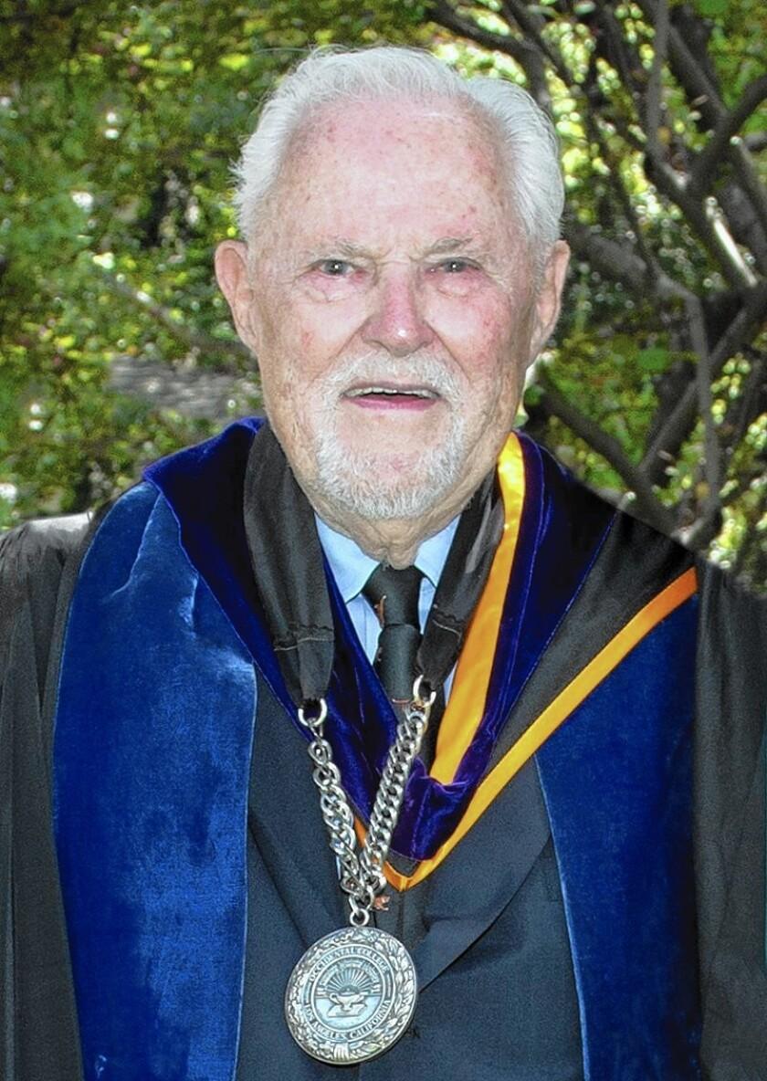 During President Richard C. Gilman's tenure, Occidental College's endowment grew from $11 million to $130 million.