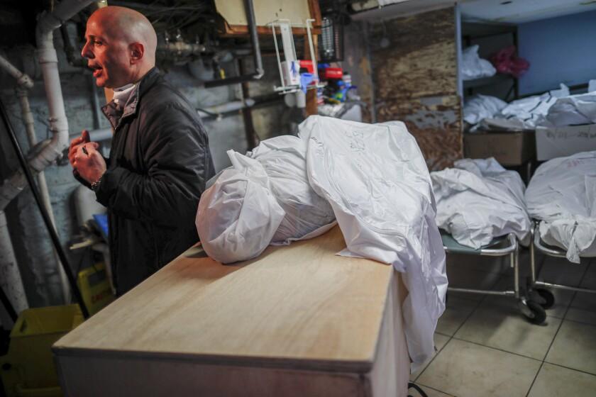 Virus Outbreak Funeral Homes