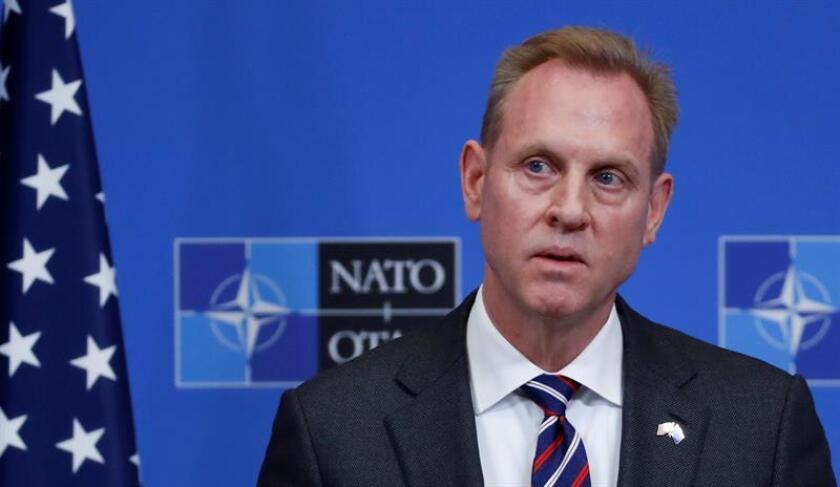 El secretario de Defensa interino de Estados Unidos, Patrick Shanahan. EFE/Archivo