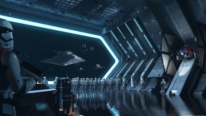 Star Wars: GalaxyÕs Edge Ð Star Wars: Rise of the Resistance