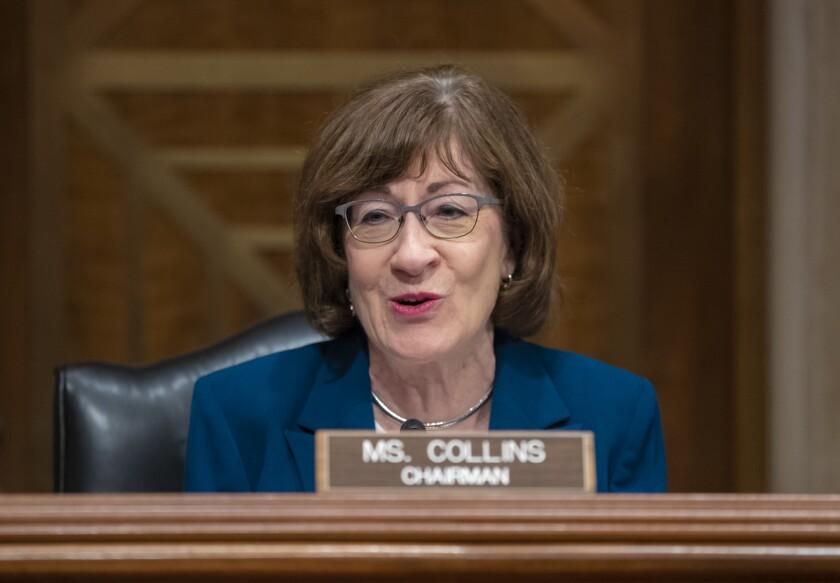 Sen. Susan Collins (R-Maine) voted to confirm Brett Kavanaugh to the Supreme Court.