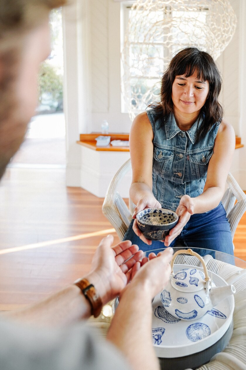 Jessica Ling Findley's Ocean Optimism series, which ends Feb. 21, includes Plankton Tea House, where the artist discusses climate change with guests over a cup of tea. The event is free, but requires signing up for a time slot online.