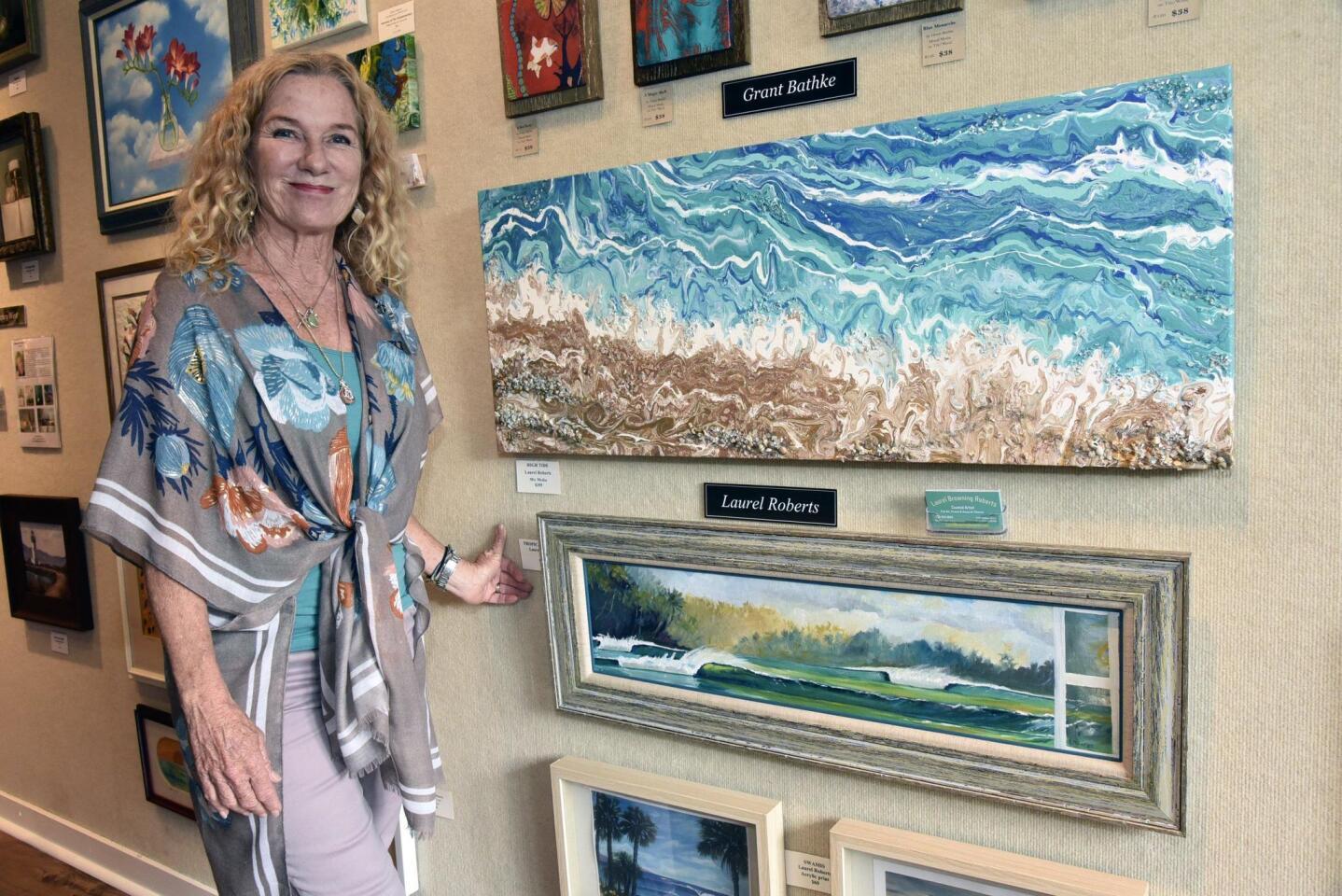 Artist Laurel Roberts
