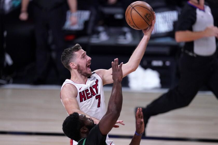 El base del Heat de Miami Goran Dragic