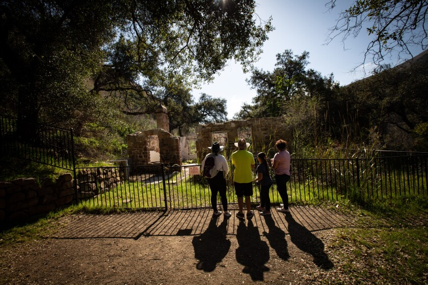 The Keller House in Solstice Canyon