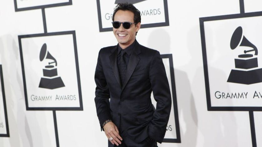 Salsa singer Marc Anthony has sold a second home in Tarzana for $3.2 million, or about $1 million less than he paid for the property three years ago.