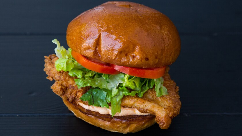 The new Fritzi Coop in the Original Farmers Market has a fried chicken sandwich dubbed the Classic.