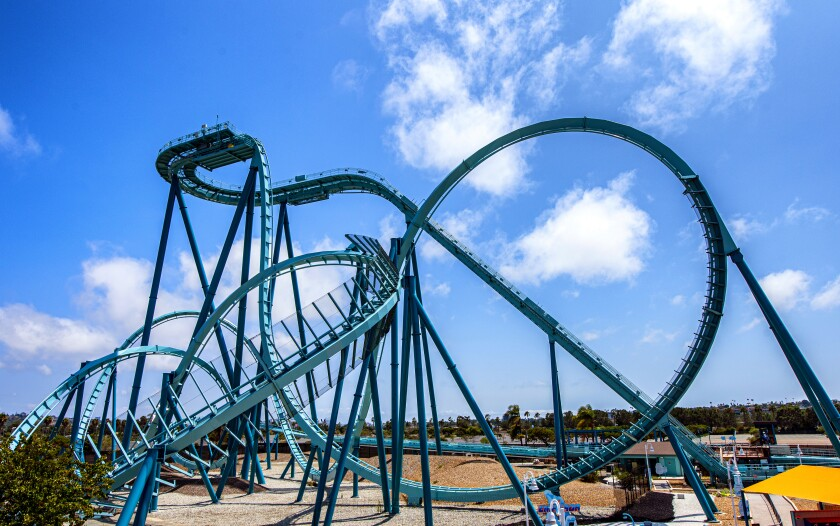 SeaWorld San Diego said its anticipated Emperor will open in March 2022.