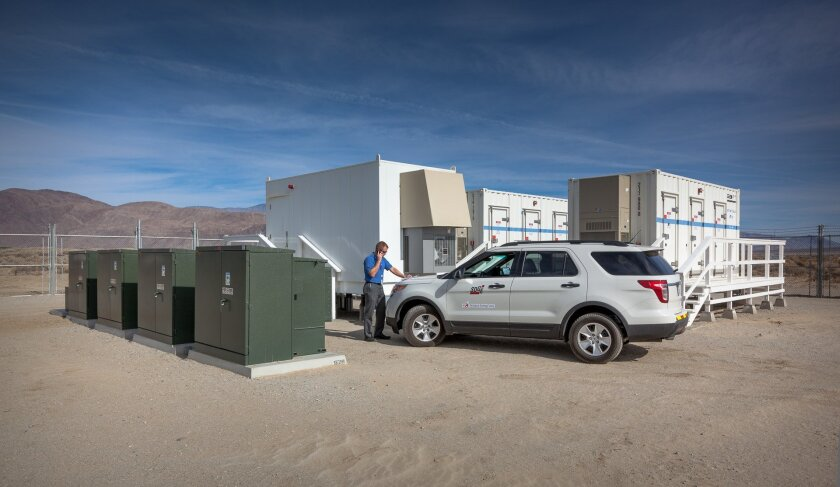 The Borrego Springs Microgrid kept power flowing to more than 1,000  customers during the outage.