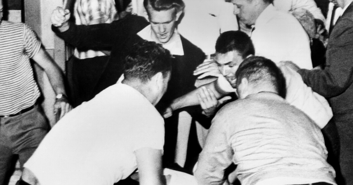Column: Remember the Freedom Riders — and how police and the FBI colluded in the attacks against them