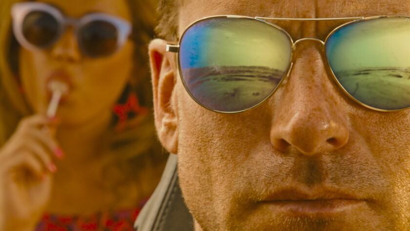 "Matilda Lutz and Kevin Janssens in in ""Revenge"" movie. CREDIT: Shudder/NEON"