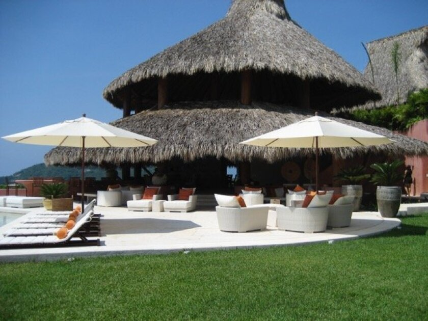 Among the auction packages is a one-week stay at a private residence in Zihuatanejo, Mexico. Courtesy