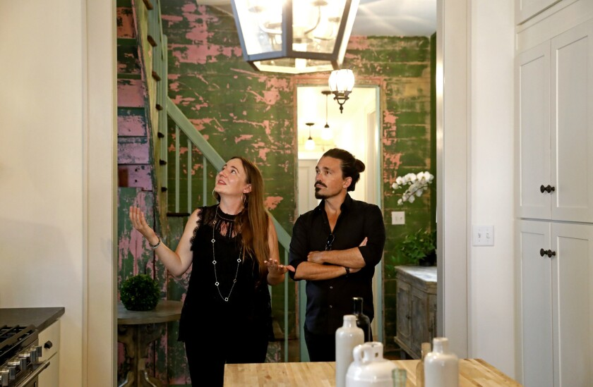 """Anne Stoltze and Sidney Torres of """"The Deed."""""""