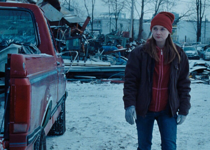 "Jessica Barden in ""Holler."""