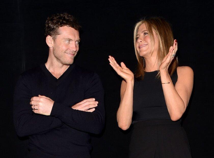 """""""Cake"""" stars Sam Worthington and Jennifer Aniston"""
