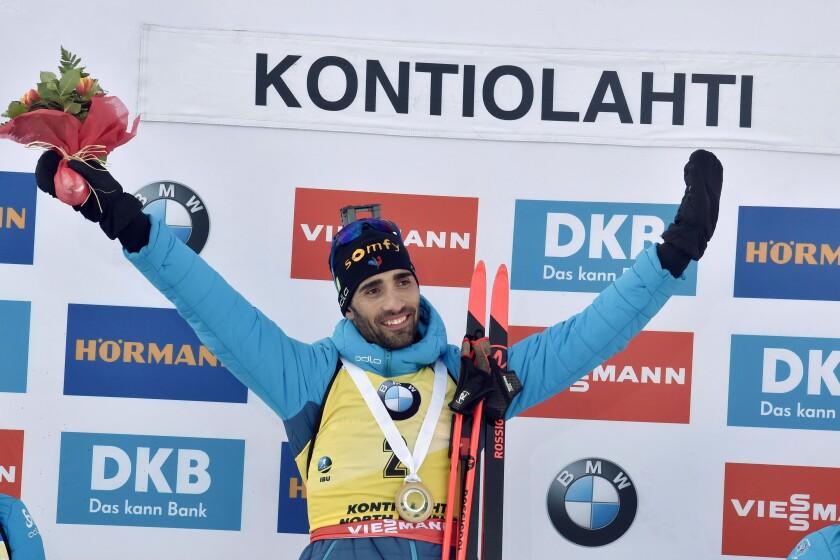 Finland Biathlon Pursuit