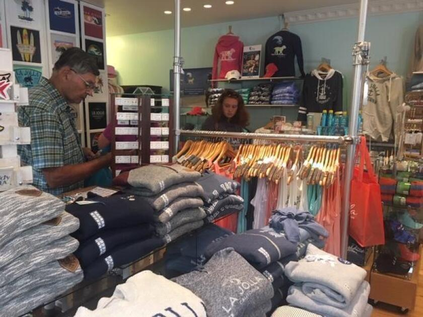Lots of apparel choices to suit the SoCal lifestyle are available at Blue Apparel, 1237 Prospect St., Suite M, La Jolla. (858) 454-2583. blueapparel.com